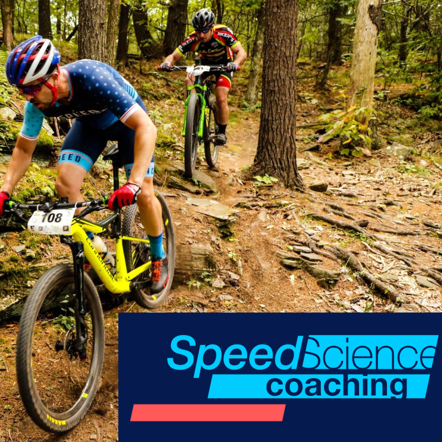 Mountain biker from speed science coaching